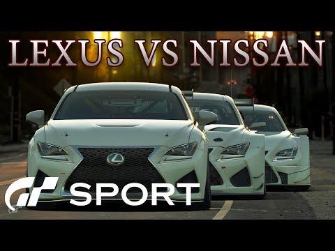 Lexus против Nissan! В Gran Turismo Sport thumbnail