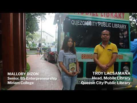DONATE NOEL'S FIRST BANK ACCOUNT TO THE MOBILE LIBRARIES OF QUEZON CITY!