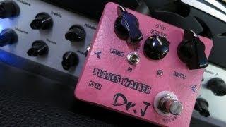 Dr.j Planes Walker Fuzz - Pedal Demo