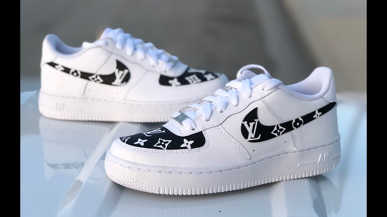 de1b155536e LOUIS VUITTON CUSTOM AIR FORCE 1