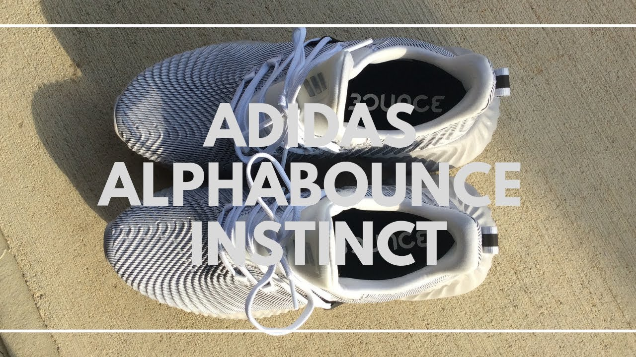 a95dd7e7a Adidas Alphabounce Instinct Review!! - YouTube