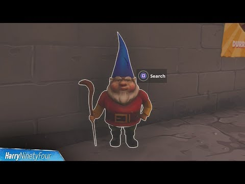Fortnite Battle Royale - All Hungry Gnome Locations Guide (Season 4 Challenge)