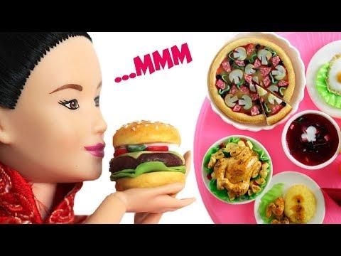 ПРАЗДНИК ЖИВОТА / Еда для кукол Барби из полимерной глинны