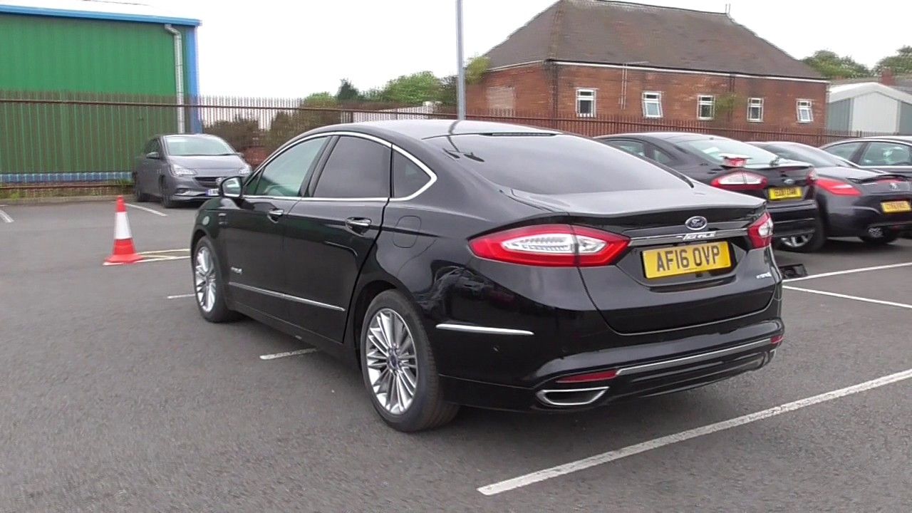 ford mondeo vignale 2 0 hybrid 4dr auto u116081 youtube. Black Bedroom Furniture Sets. Home Design Ideas