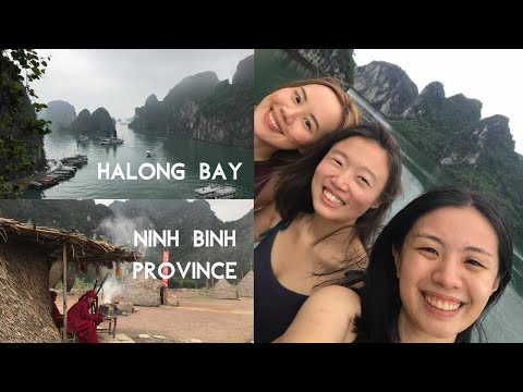 MANILA TO HANOI WITH FRIENDS! (Halong Bay Cruise, Trang An and Bai Dinh Pagoda) | Chelsey Nichole