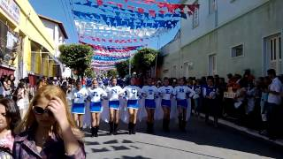 Desfile Cívico 2 de julho  - Fanfarra de Caetité . (FANCTEB)
