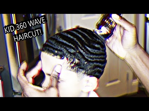 THE DRIP BROTHERS FINALLY GET A 360 WAVE HAIRCUT! (CHECK OUT THESE KIDS WAVES)