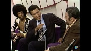 Sly Stone and Muhammad Ali on The Mike Douglas Show (1974)
