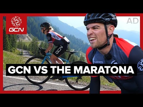 GCN Rides The Maratona | Sprinter Vs Climber