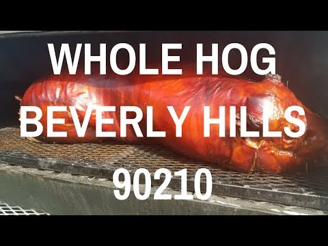 Whole Hog Wedding Caterer Beverly Hills 90210 BBQ Harry Soo SlapYoDaddyBBQ.com Ribs Grilled Dinner