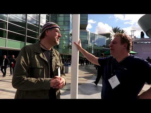 Jeff Garlin Meets Greg Koch  •  NAMM 2018