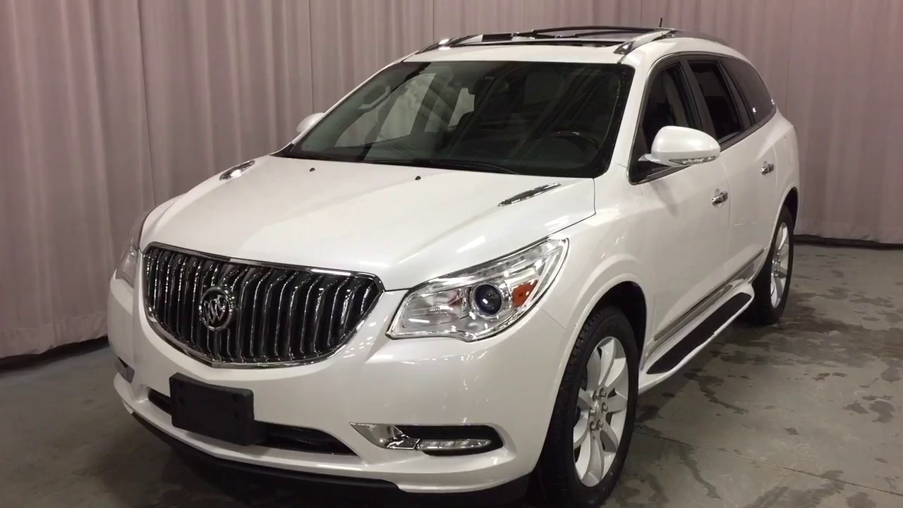2017 Buick Enclave AWD Sunroof Assist Step White Oshawa ON ...