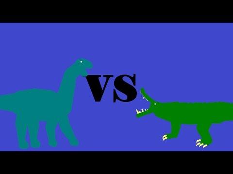 Kaprosuchus Vs Mussaurus