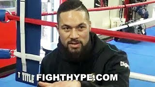 JOSEPH PARKER REACTS TO WILDER VS. FURY MENTAL WARFARE; ATTENDING FIGHT, ON THE FENCE