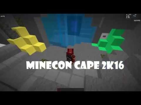 MINECRAFT/MINECON CAPE BEKOMMEN - FREE 2016 1.7 1.8 1.9 ...