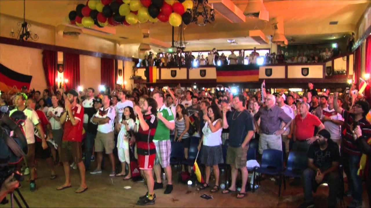 Vancouver Alpen Club WM 2014 Germany vs Argentina FINALE