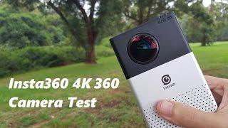 4K 360 Video Using Insta360 Camera