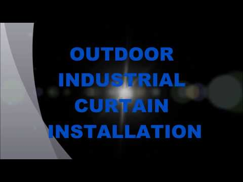 industrial curtain installation outdoor p strouth 11 13 2016