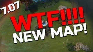 Dota 2 - 7.07 Dueling Fates Patch - MAP CHANGES!