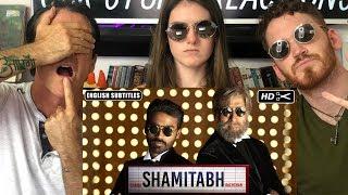 SHAMITABH Trailer REACTION! | Amitabh Bachchan, Dhanush