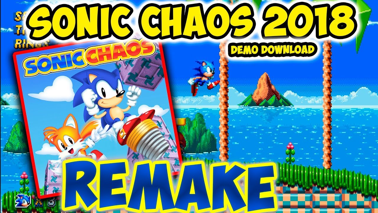 Sonic Chaos REMAKE SAGE 2018 DEMO Turquoise Hill