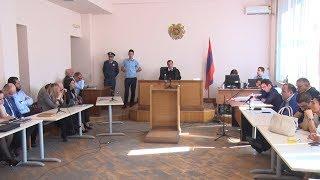 Զինված խմբի պարագլխի առողջական վիճակը վատացել է, դատական նիստն ընդհատվեց