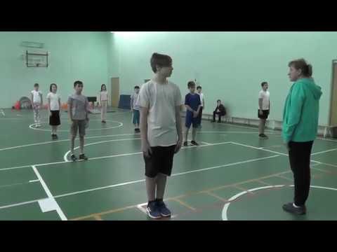 Урок физкультуры в 6 классе легкая атлетика видео