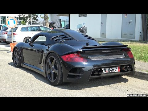 UltraRare RUF CTR3 Exhaust Sound  Start Up, Rev, Drive Off