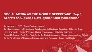 Social Media As Mobile Newsstand