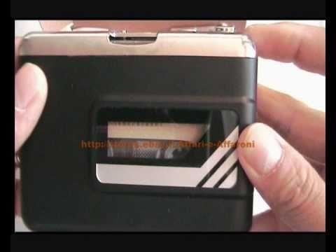 CONVERTITORE CASSETTE IN MP3 TRAMITE USB CASSETTE TO MP3 CONVERTOR