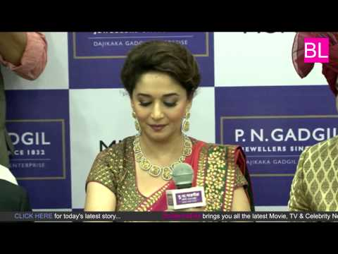 Madhuri Dixit at Jewellery Store Launch