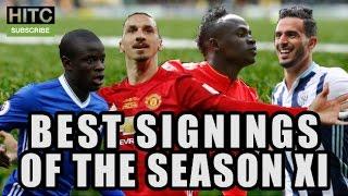 Best Signings Of The Season XI