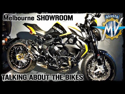 MV Agusta Motorcycle Showroom in Melbourne!