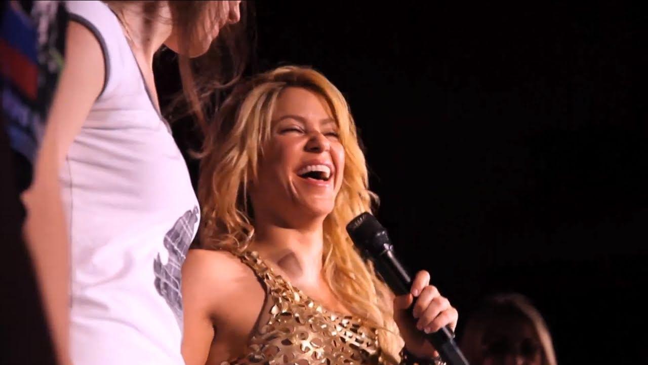 Shakira Tour Blog 07: The Bologna show