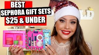 BEST SEPHORA GIFT SETS $25 & UNDER!