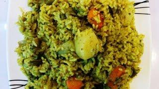 Vegetable Pulao/ Pulav Rice Recipe By Savita Benur
