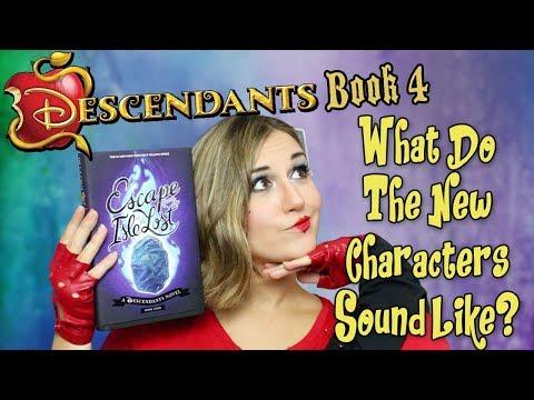 Disney Descendants Book 4 Escape From The Isle Of The Lost Impressions - Madi2theMax