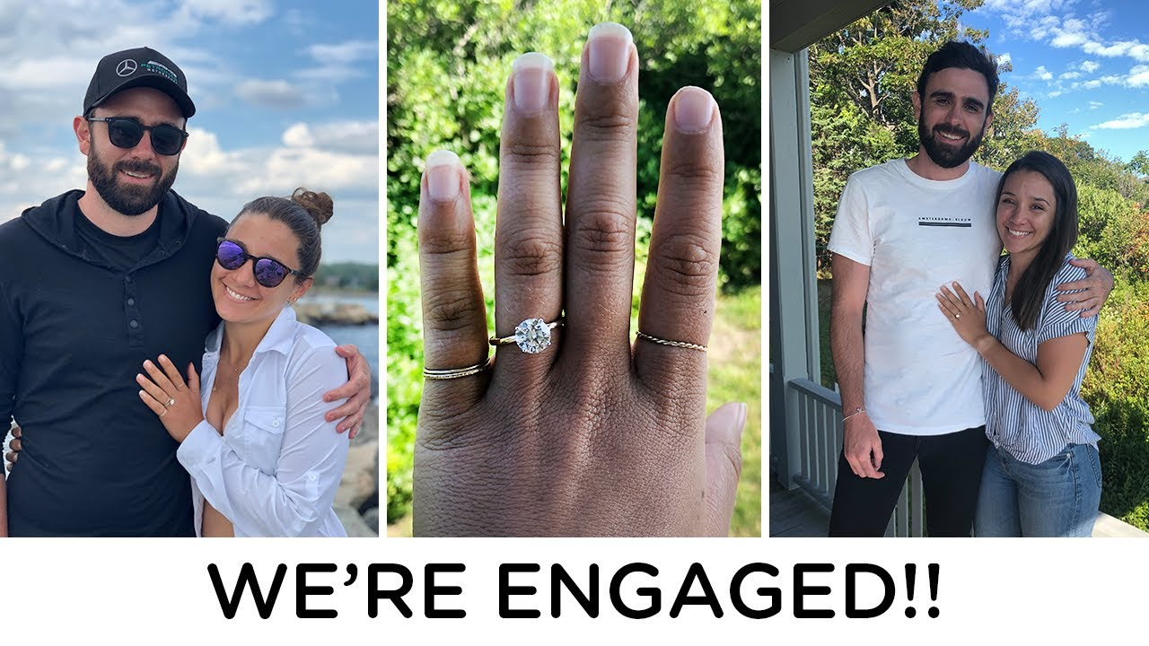 WE'RE ENGAGED, the proposal & celebration!