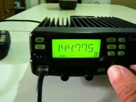 radio icom ic v8000 vhf 75w youtube rh youtube com Icom V8000 Modifications Icom V8000 Programming Software