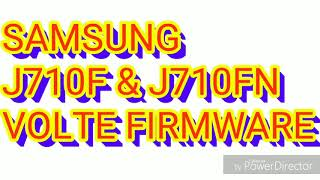 How to volte update all samsung j701f j710f g615f g610f and