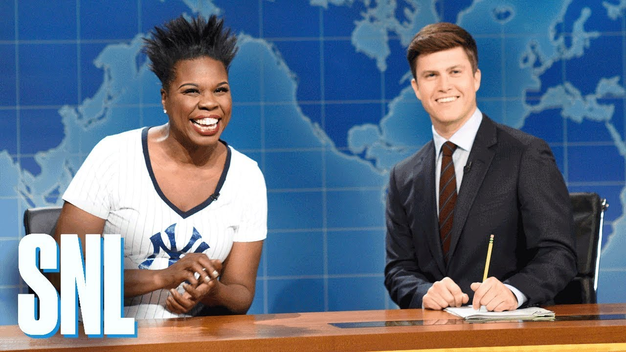 Weekend Update: Leslie Jones on Baseball - SNL