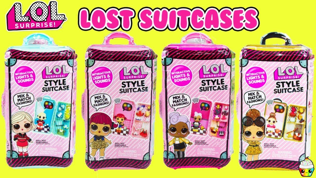 Surprise L.O.L Style Suitcase Interactive Surprise Boss Queen LOL