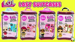 LOL Surprise Style Suitcase LOST SUITCASES At The LOL Airport