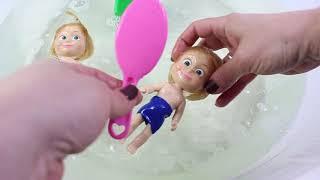 Masha Havuzda Oynuyor Maşaların Havuz Keyfi Maşa İle Koca Ayı İzle Çizgi Film
