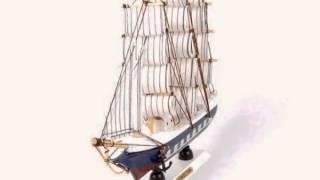 Деревянная модель парусника титаник ручной работы