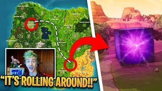Ninja *Experiments* with Mystery LIGHTNING CUBE! | Fortnite Best Moments
