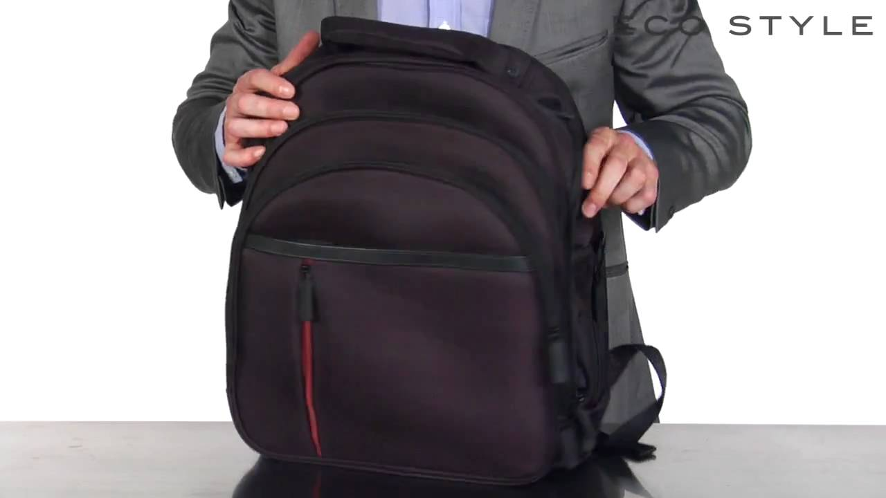 210255e02a15 Eco Style Luxe Back Pack - YouTube