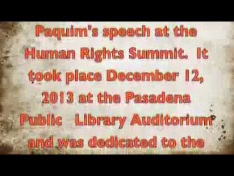 Thankyou to Indiegogo Funders Human Rights SummitUtopia lumiere films Marie Paquim