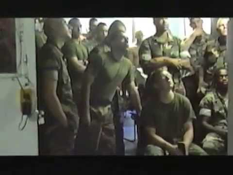 First of the First - Video Footage of the first Marine Corps Unit to enter the G.W.O.T.