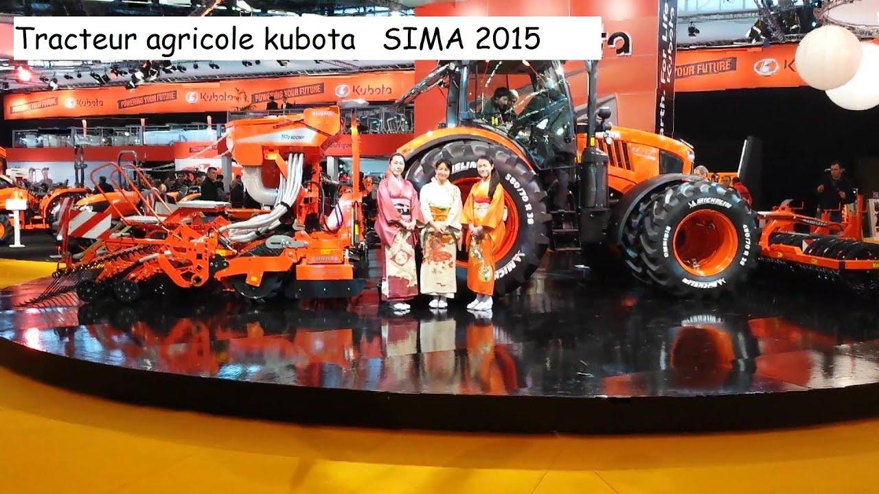 video podium tracteur agricole kubota sima 2015 paris youtube. Black Bedroom Furniture Sets. Home Design Ideas
